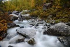 Gornera River in Fall    Zermatt, Switzerland