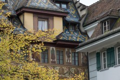 Medieval Architecture in Old Town Lucerne || Switzerland
