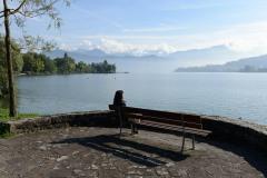 Relaxing at Lake Lucerne || Switzerland