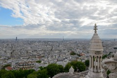 Sunrays on Eiffel Tower || Paris