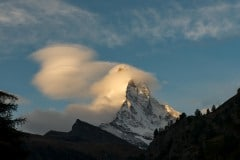 The Matterhorn with Pancake Cloud || Zermatt