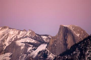Half Dome at Sunset || Yosemite NP