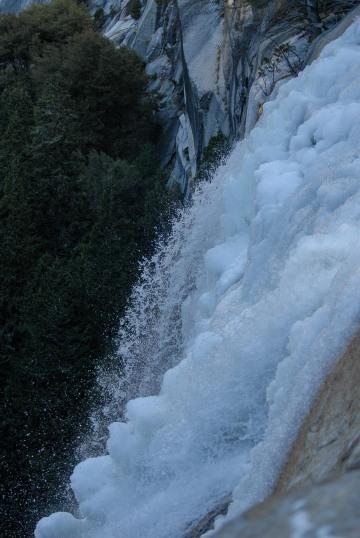 Vernal Falls from Buff Overlook || Yosemite NP