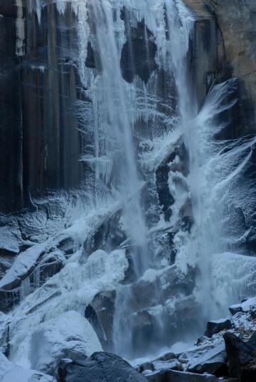 Vernal Falls in Winter || Yosemite NP