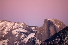 Half Dome at Sunset || Yosemite NP