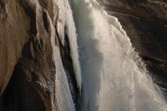 Sunlit Nevada Falls || Yosemite NP